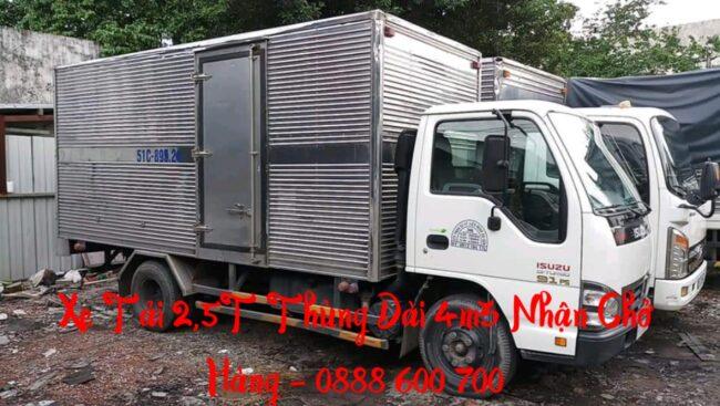 Xe tải 2 tấn vận chuyển nhà giá rẻ