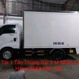 Cho thuê xe tải chở hàng 1 tấn thùng kín