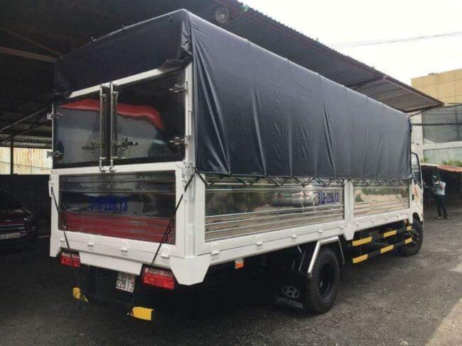 Xe tải 3,5 tấn dài 6m nhận chở hàng