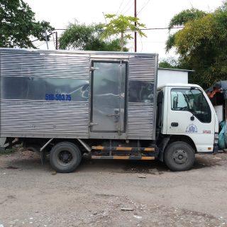 Cho thuê xe tải 2,5 tấn thùng dài 3m6