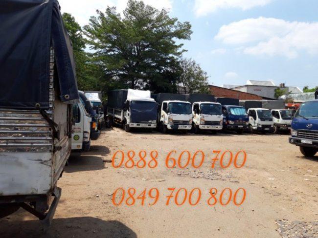 Cho thuê xe tải chở hàng Liên Minh Sài Gòn