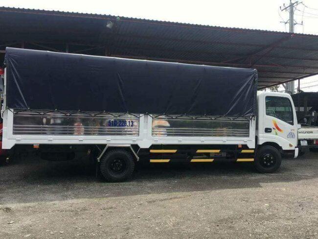 Cho thuê xe tải 2 tấn dài 6m chở hàng
