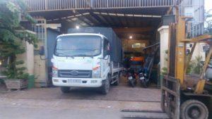 Thuê xe tải chở hàng Liên Minh Sài Gòn